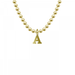 Letter product pic Yellow Gold